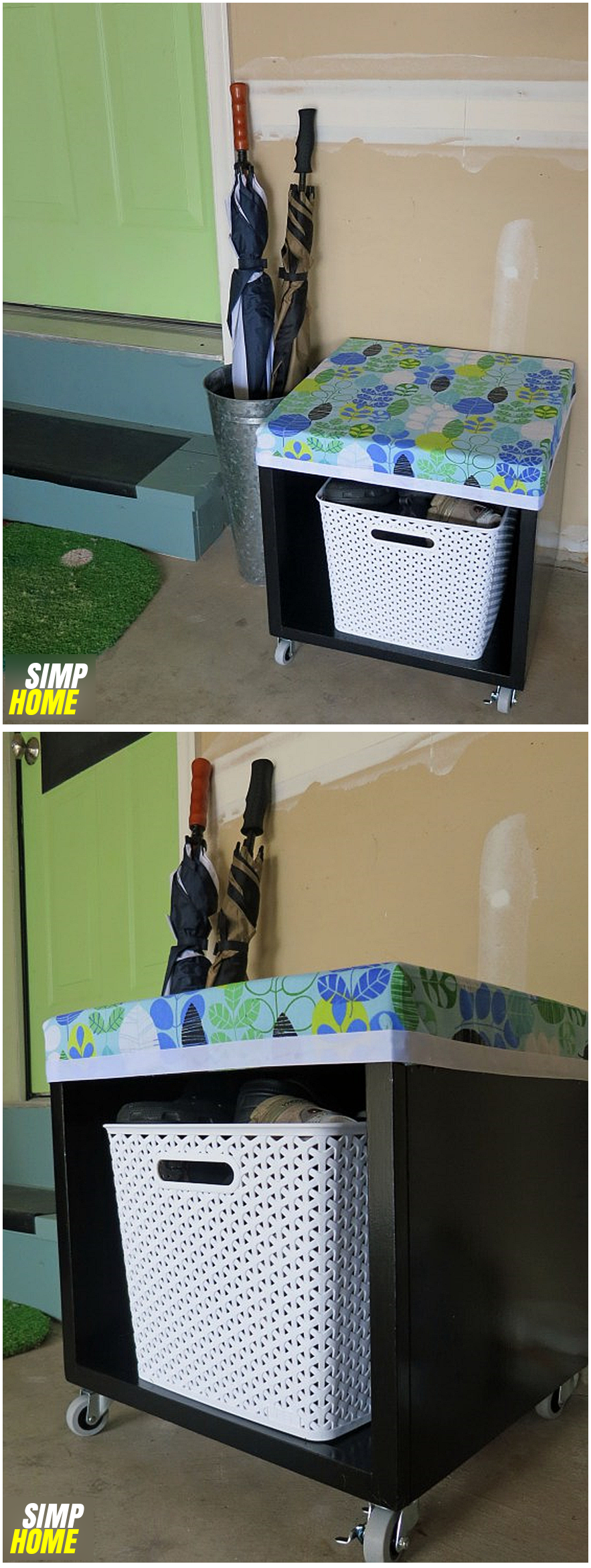 Thrift Shop Storage Cube Transformation idea via simphome 9