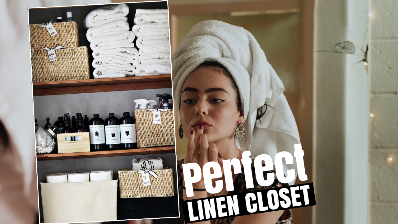 how to make linen closet via simphome