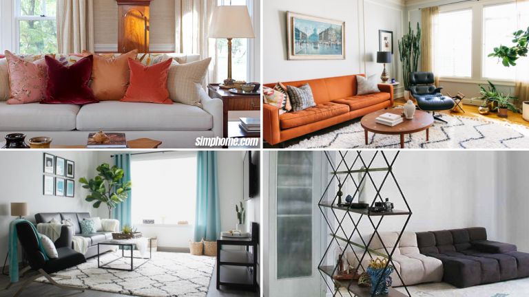10 Apartment Makeover Budget Ideas via simphome featured image