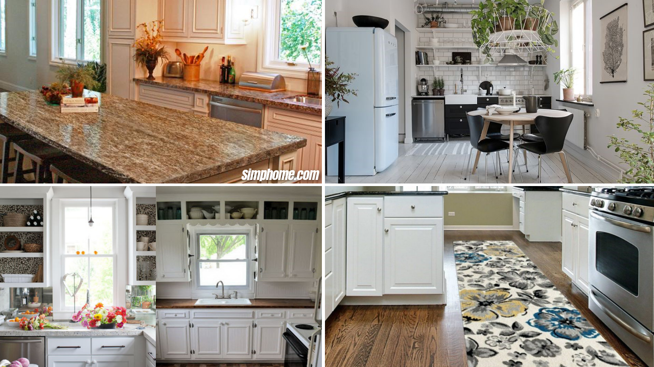 10 Cheap and Easy Small Kitchen Makeovers - Simphome