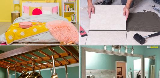 Easy Home Improvement Ideas via simphome featured