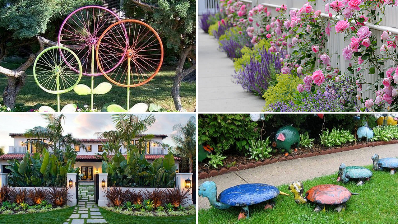 10 Garden and Exterior Home Makeover Ideas via simphome featured