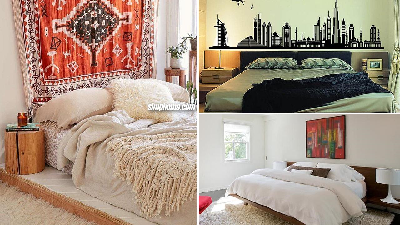 10 Home Makeover Bedroom Ideas via Simphome com Featured image
