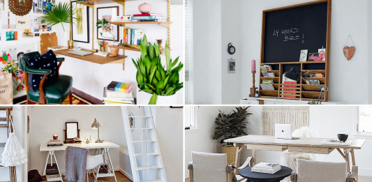 10 Home Office Makeover Ideas by simphome com featured