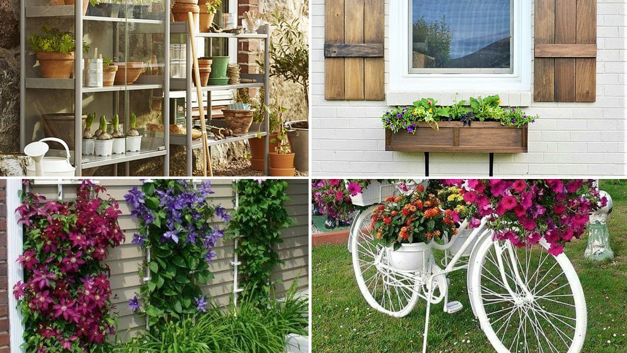 10 Home Small Garden Makeover Ideas via simphome featured