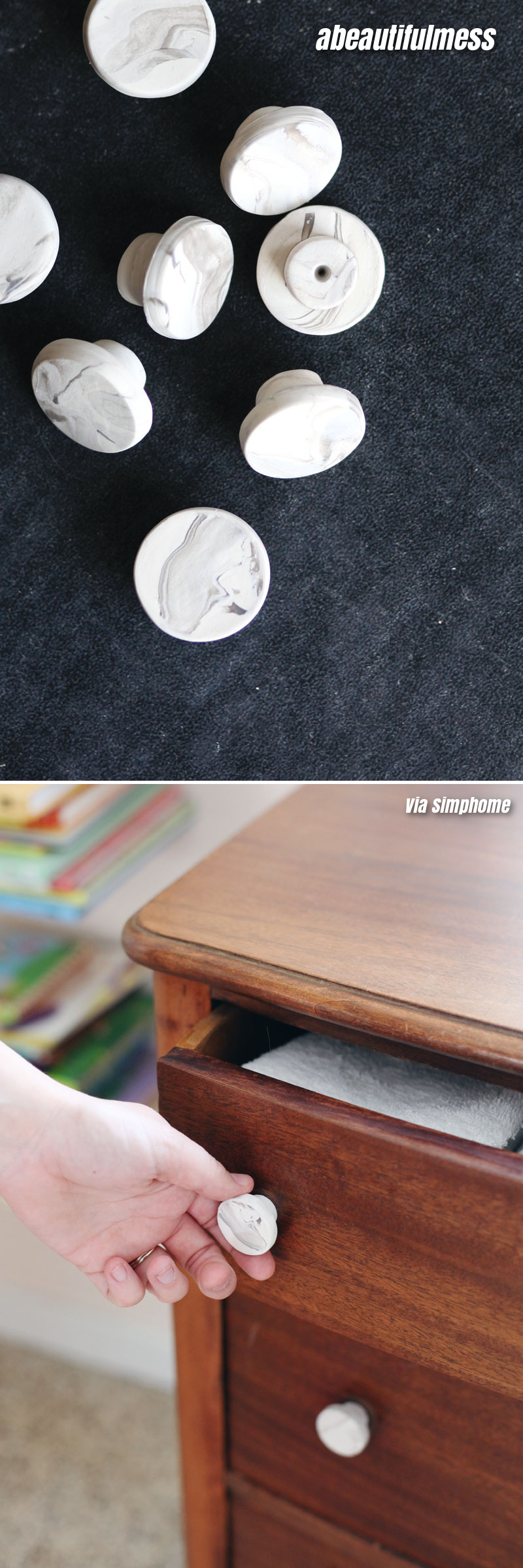 3 Replace the Hardware of Your Drawers of Cabinets via simphome