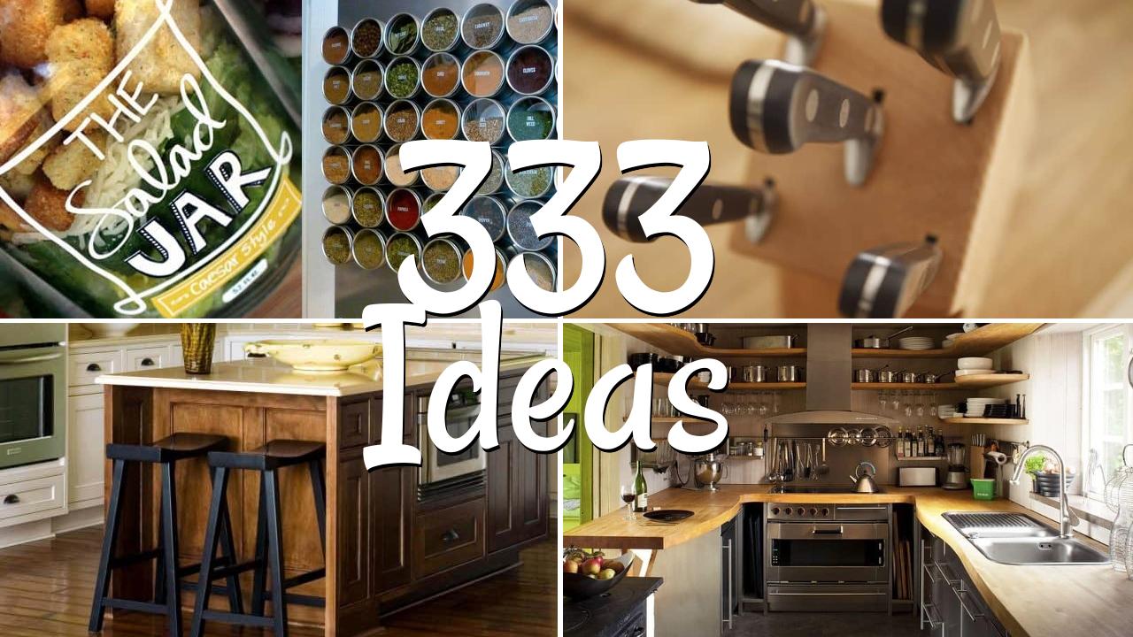 333 Small Kitchen ideas Organization and Kitchen Designs featured Simphome com