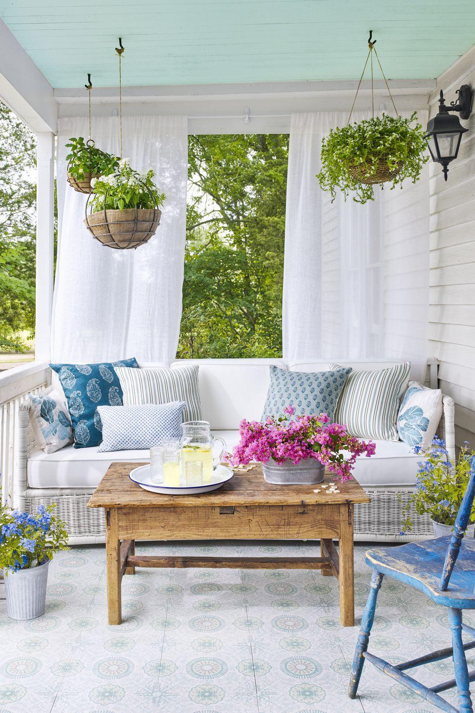 5 Make a Garden in Your Porch via simphome