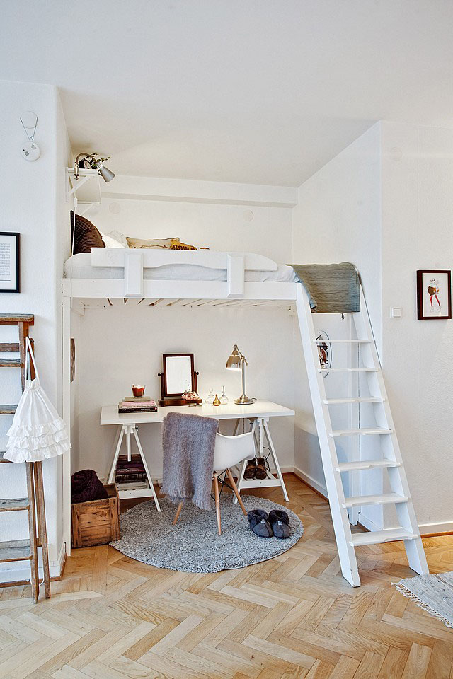 7 Home Office Ideas for Limited Space via simphome