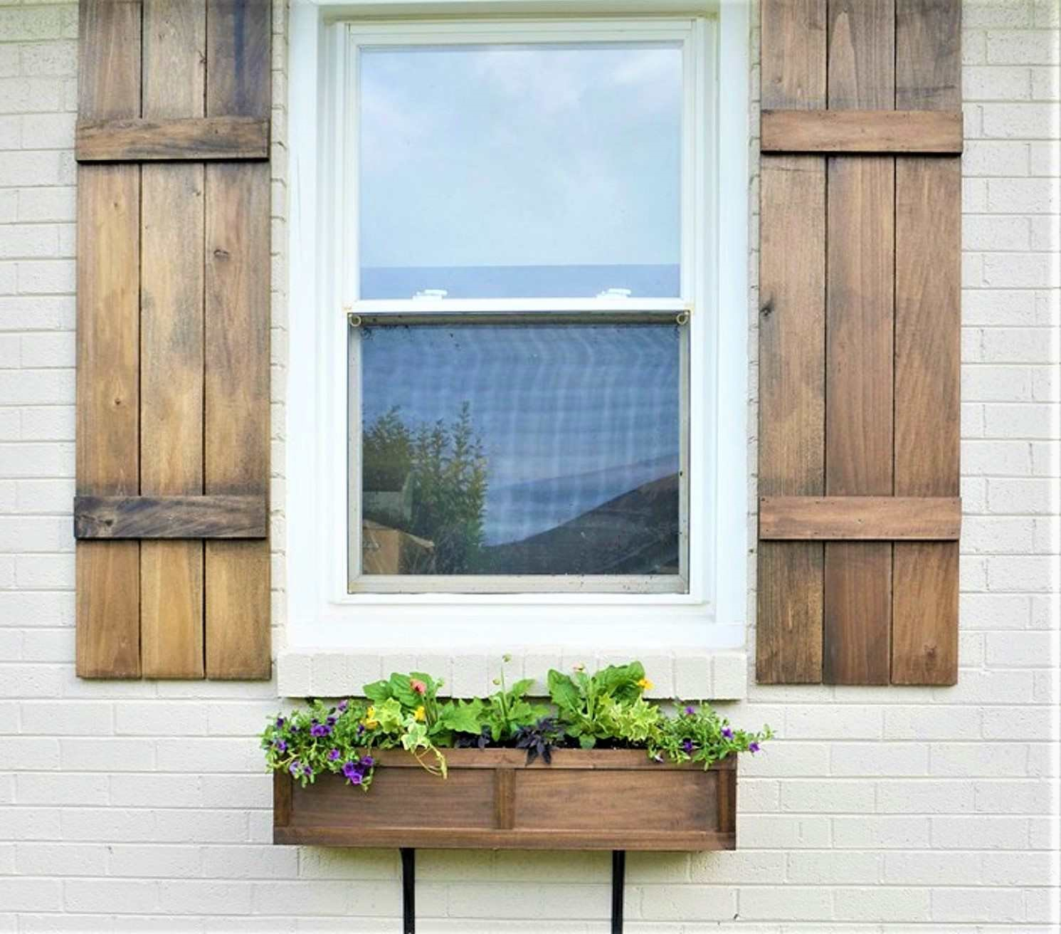 9 Window Box Gardening via simphome
