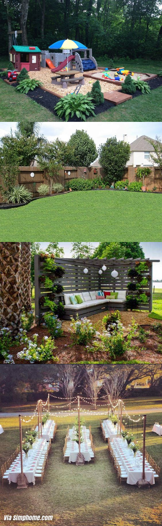 backyard and gadening ideas via Simphome