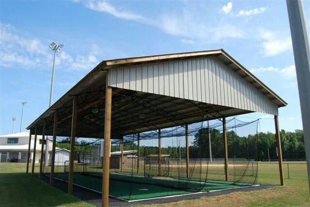 1.Batting Cage Ideas via SImphome.com
