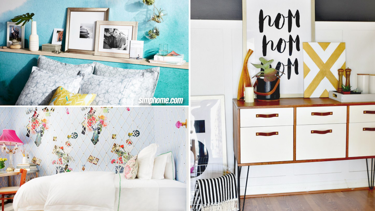 10 Dramatic Bedroom Makeover for Small House via Simphome thumbnail