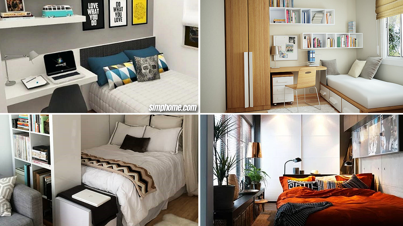 10 Small Bedroom Furniture Ideas - Simphome