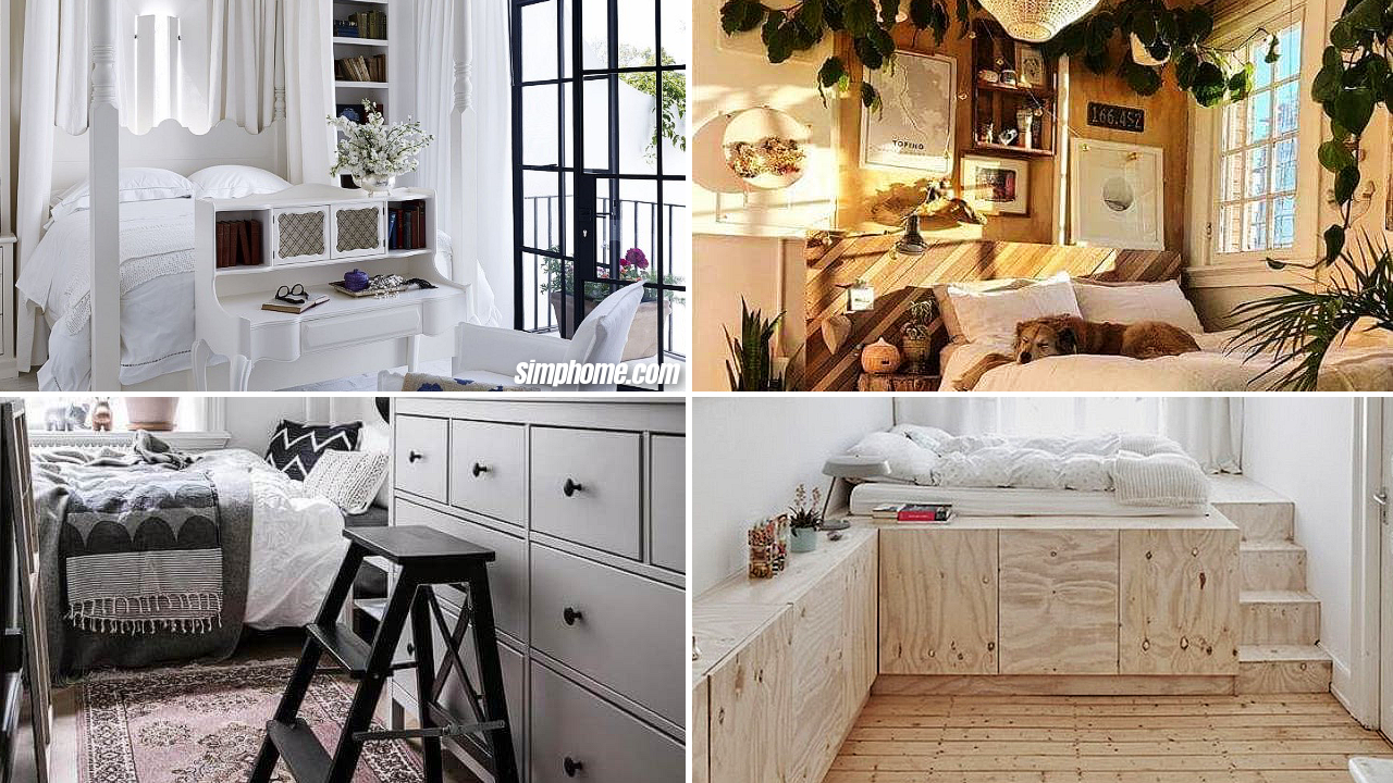 10 Small Box Room Bedroom Design Ideas via Simphome Featured image
