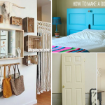 10 Upcycled Furniture Ideas for Small Bedroom via Simphome featured