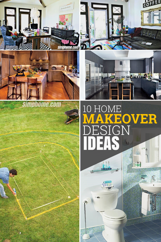 10 home makeover design ideas via Simphome com Featured Pinterest
