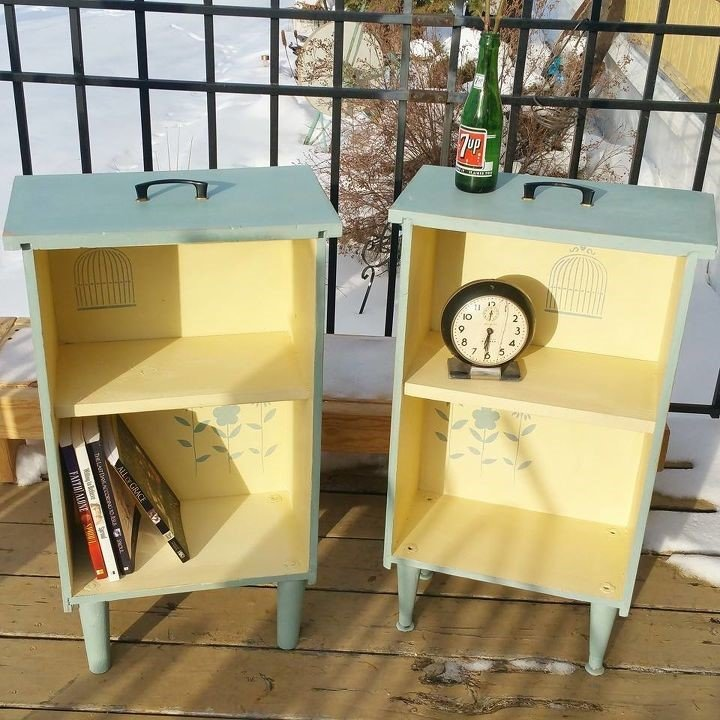 10 Drawers Have Turned into Side table via simphome com