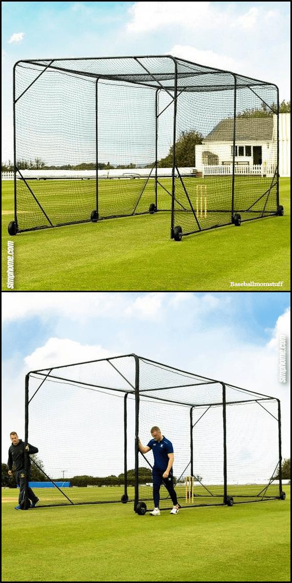 3.Portable Batting Cage idea via Simphome.com