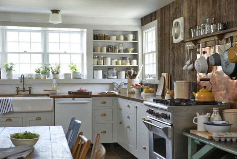 4 Old Kitchen Has Transformed into Farmhouse Kitchen via Simphome After