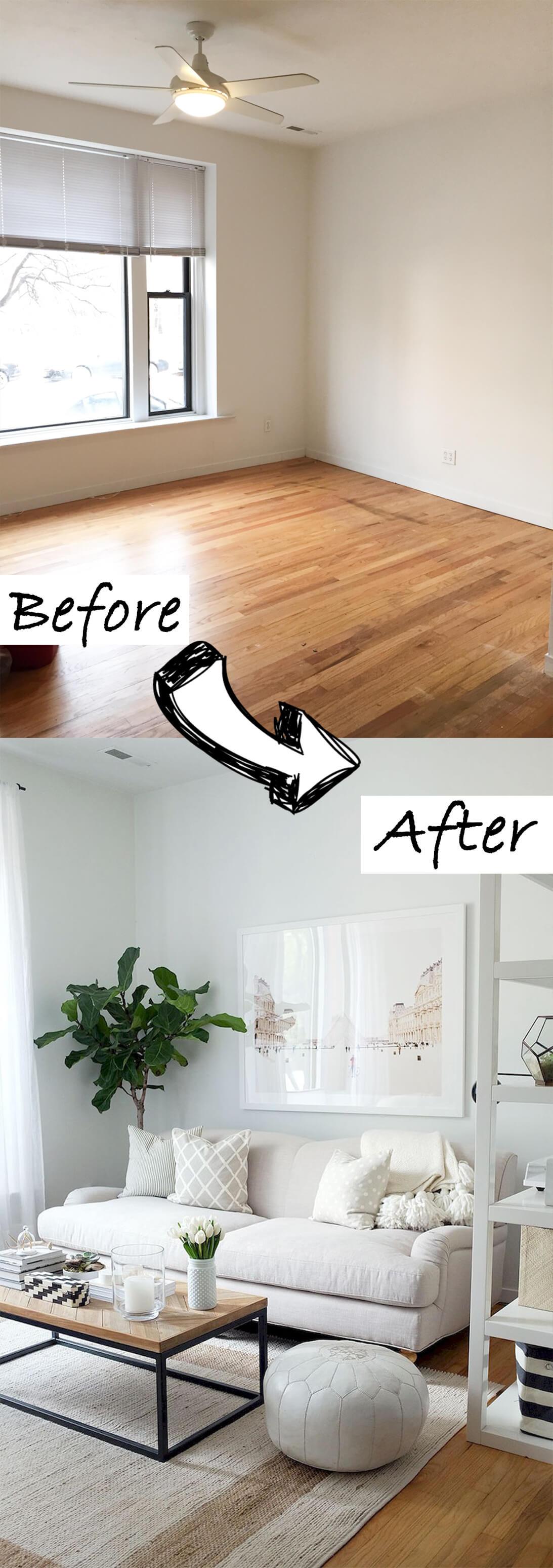 5 Cozy White Living Room via simphome