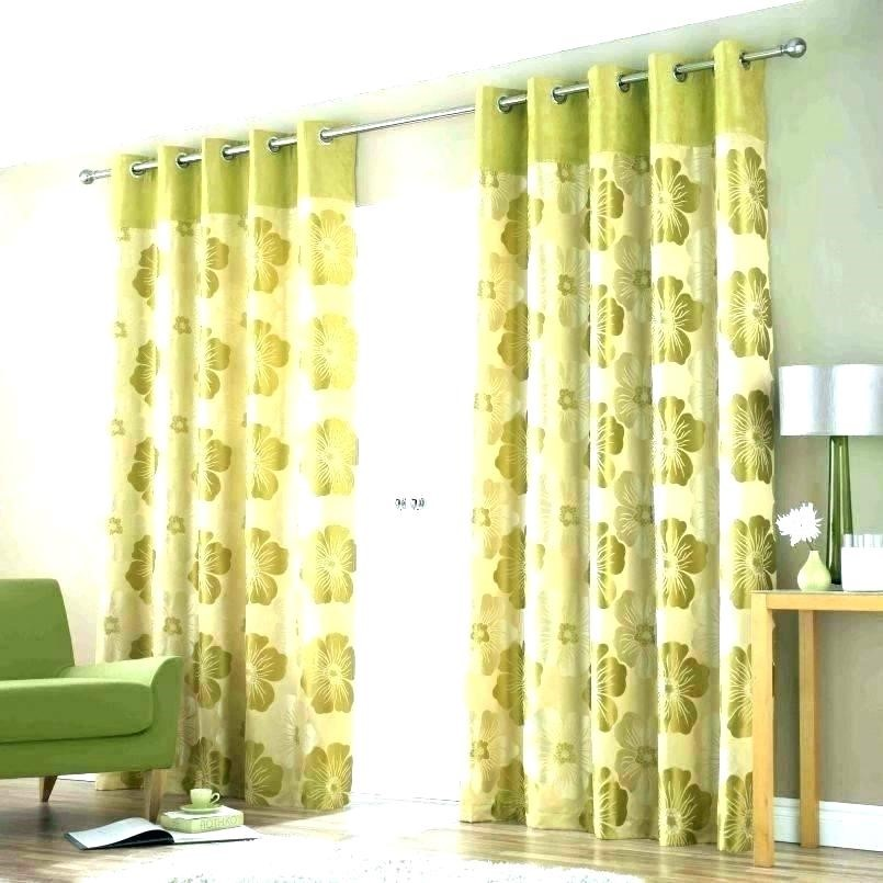 9 Beautiful Floral Curtains via simphome