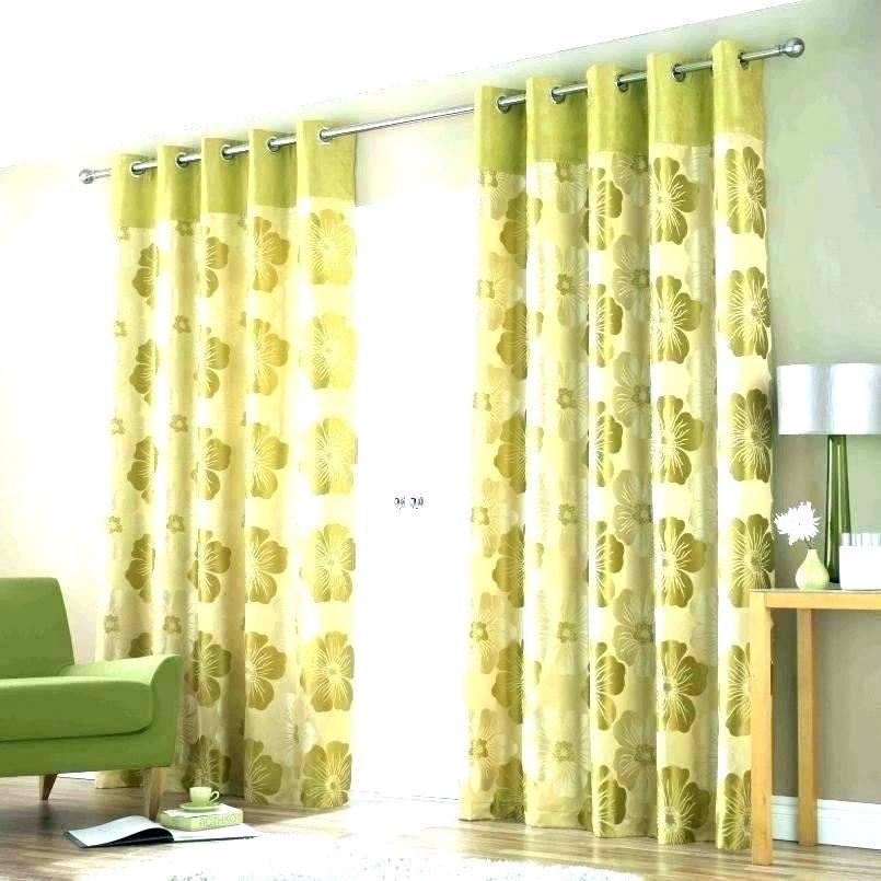 9 Beautiful Floral Curtains via simphome