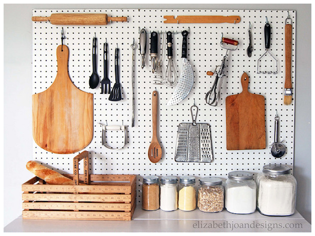9 Harness the Versatility of Pegboards via Simphome