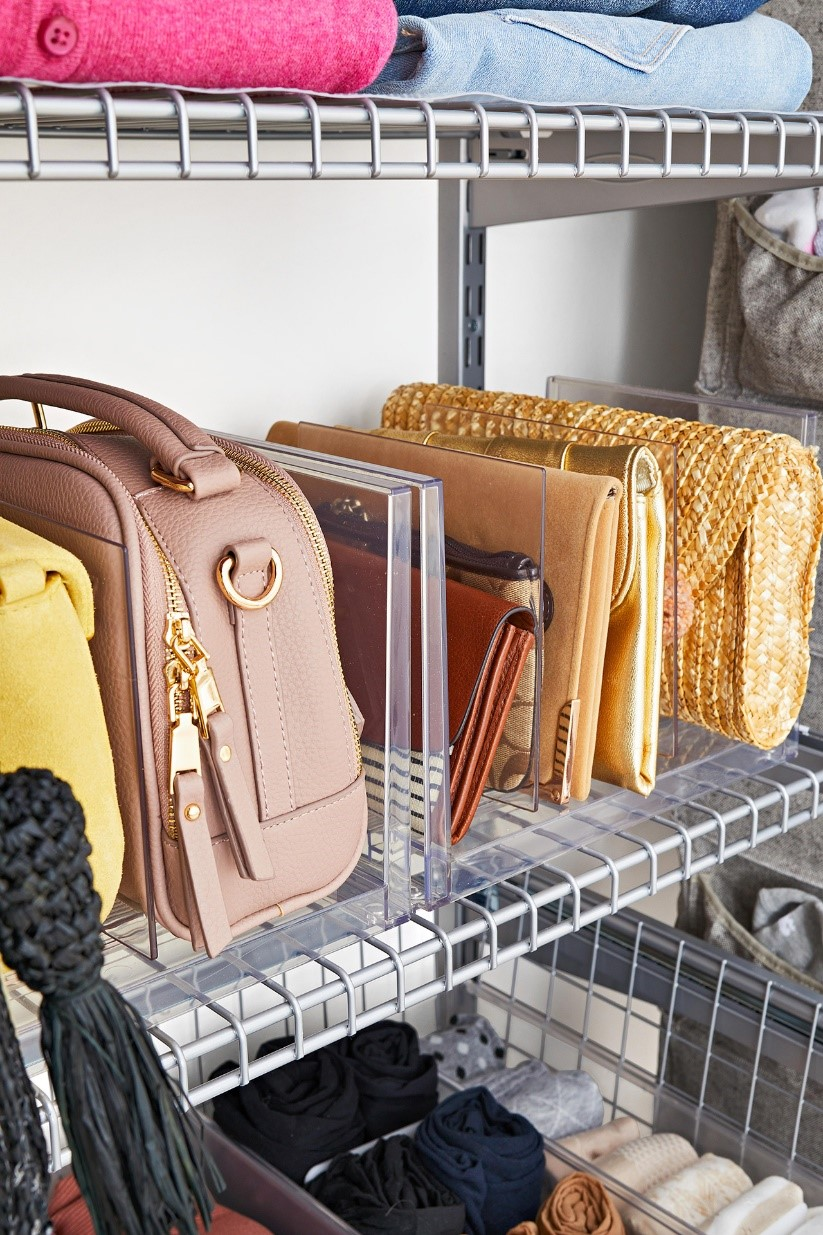 3. Display Your Purses Nicely via Simphome