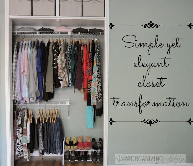 4. Use Double Hangers via Simphome