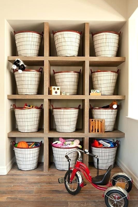 6. Baskets Storage via Simphome