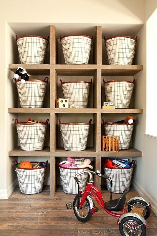 6. Baskets Storage via Simphome