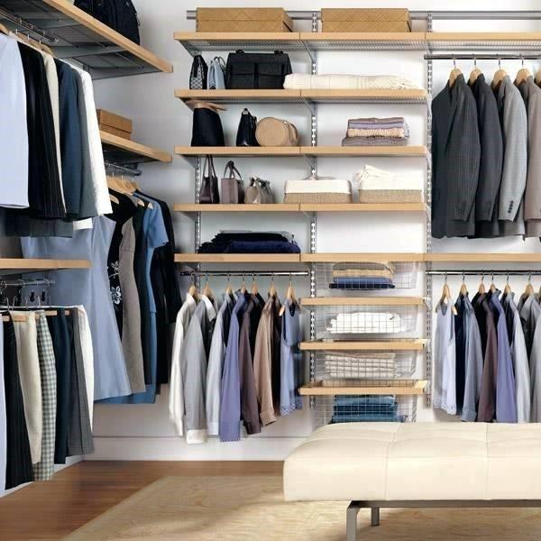 8. Clothes Storage Organizer via Simphome