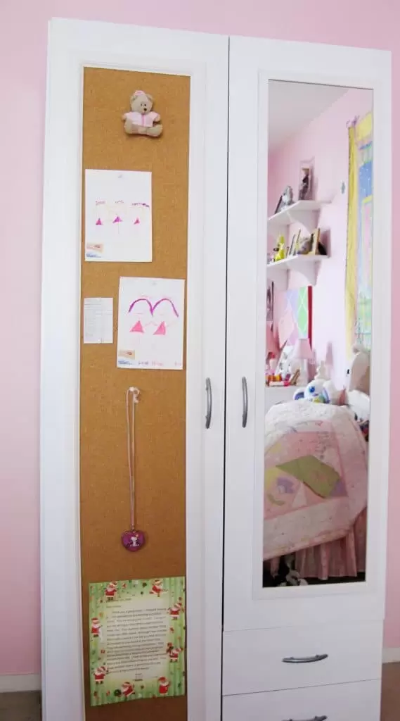 9. Add Mirrors and Corkboard to the Doors via Simphome