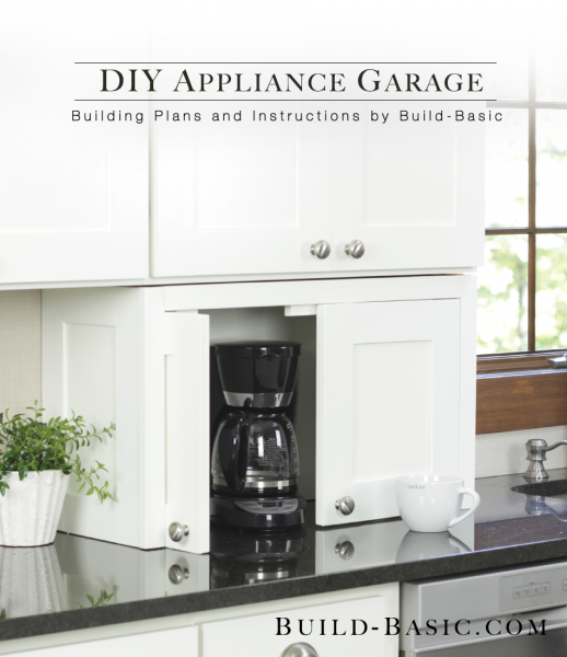 1. Additional Kitchen Cabinet for Appliances via Simphome
