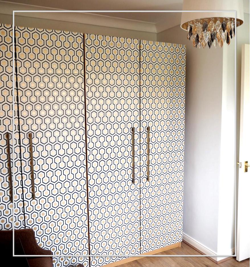 1. Reface It with Wallpaper via Simphome