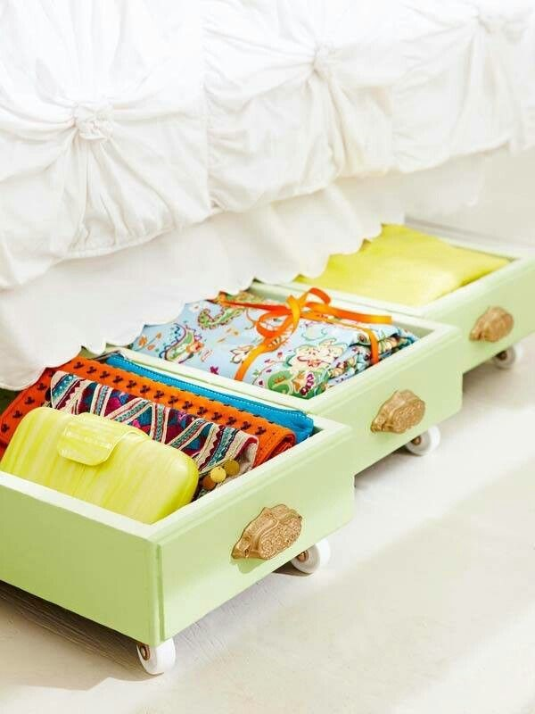1. Under the Bed Storage ideas via Simphome.com