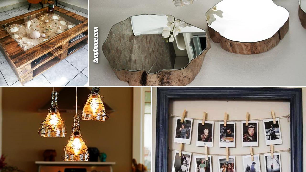 10 DIY Home and Wall Decor Small Space Ideas via Simphome.com featured image
