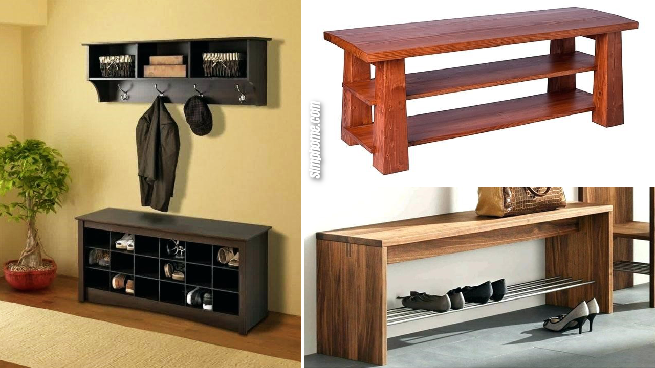 10 Efficient Shoe Bench Storage Ideas to Untie the Mess via Simphome.com Featured Images