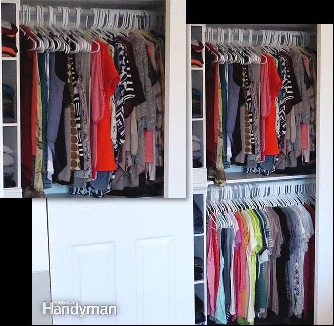 10. Sort Your Clothes via Simphome.com