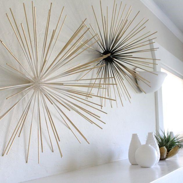 3. Beautiful Wall Sculpture via Simphome