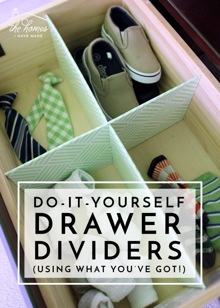 3. Invest in Drawer Dividers via Simphome