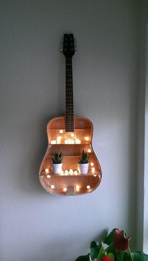 4. A Musical Shelf via Simphome.com