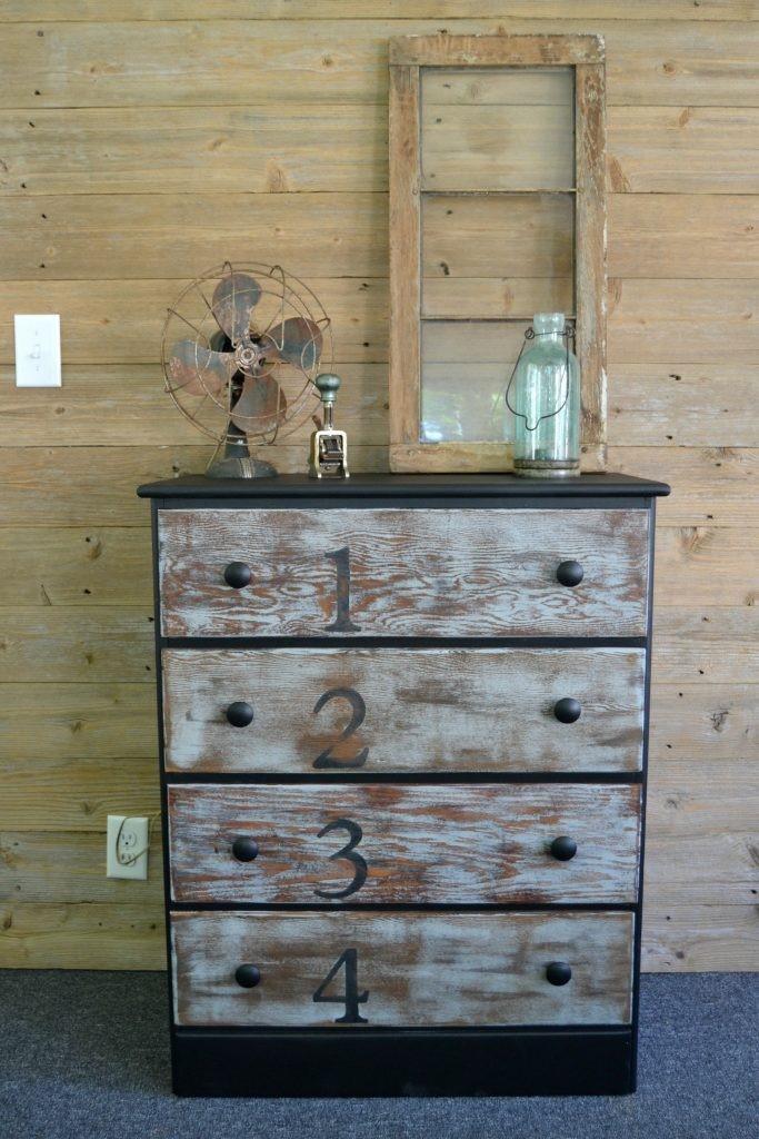 5. Rustic Dresser Makeover via Simphome