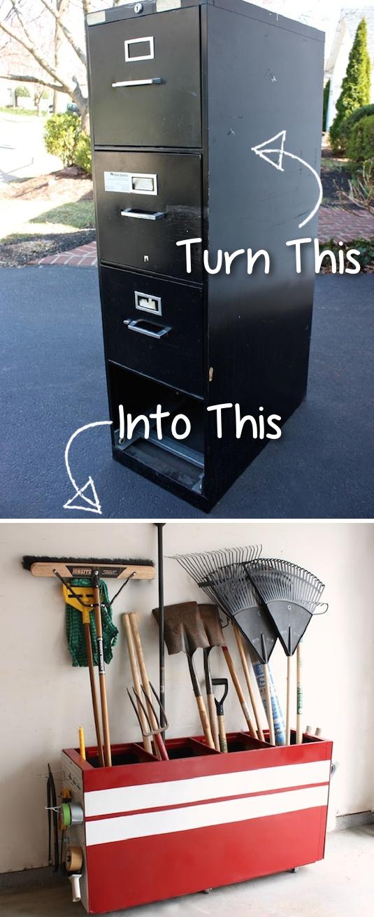 7. A Multipurpose Garage Storage via simphome
