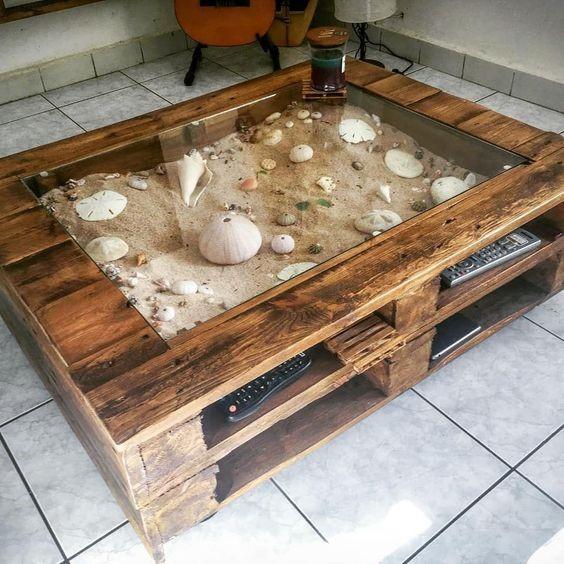 7. Beach Themed Table via Simphome