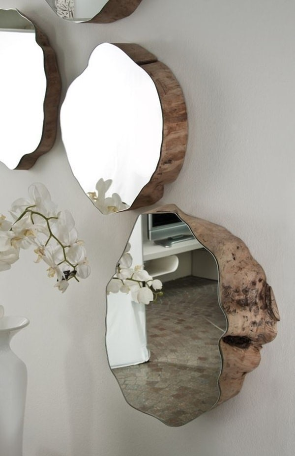 8. Awesome Mirror ideas via Simphome