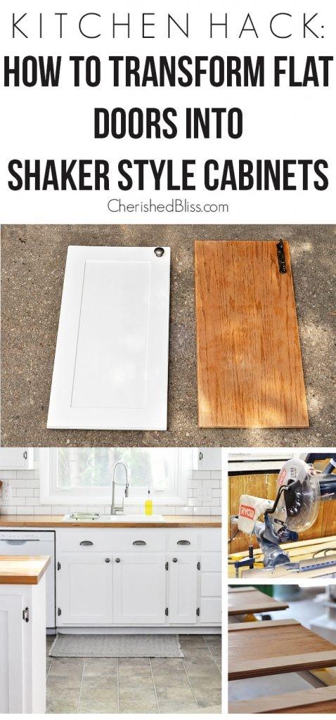 8. Shaker Kitchen Cabinets via Simphome