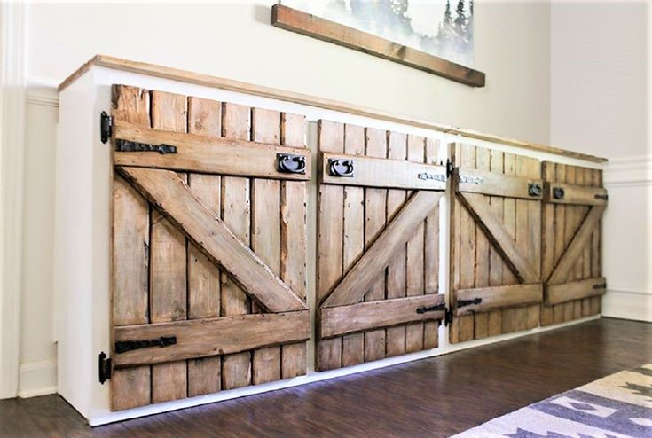 9. Farmhouse Style Kitchen Cabinets via Simphome