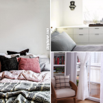 How to Optimize a Small Bedroom Apartment in 10 Ways via Simphome.com featured